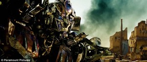Prime in Transformers Revenge of the Fallen