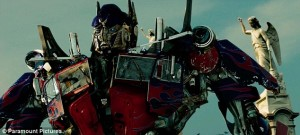 Optimus Prime from Transformers 2