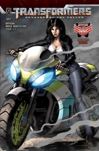 Transformers: Revenge of the Fallen Adaptation #1 BotCon Exclusive