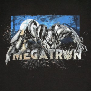 Transformers_Megatron_Black_Shirt