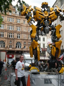 Darren Jamieson and Bumblebee