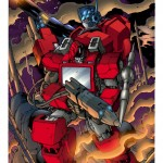 The Transformers: All Hail Megatron Cover