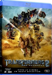 Transformers  Revenge of the Fallen Blu-ray Cover France