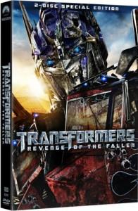 Transformers: Revenge of the Fallen 2 Disc DVD Cover
