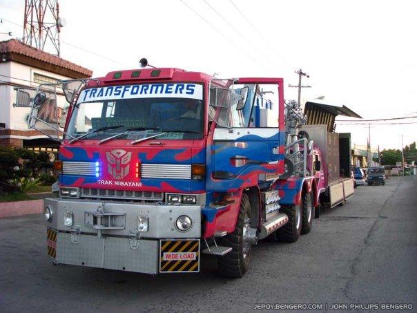 Optimus Prime truck | Transformers