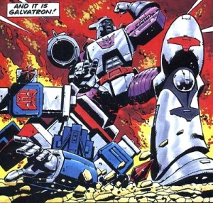 Galvatron defeats Magnus