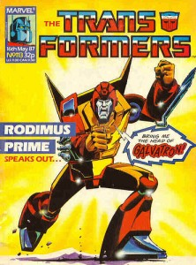 Transformers #113 Cover