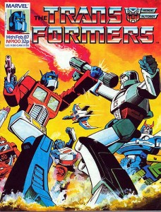 Transformers #100 Cover
