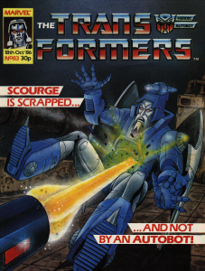 Transformers #83 Cover