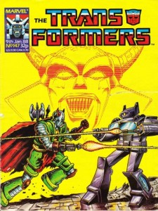 Transformers #147 Cover