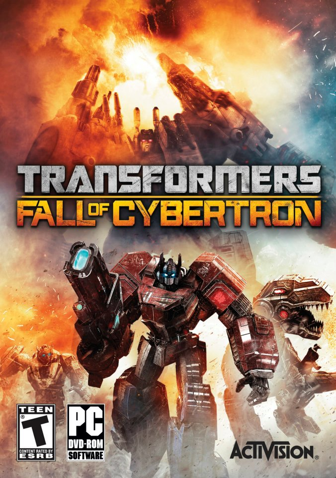 Transformers Fall of Cybertron trailer featuring Metroplex