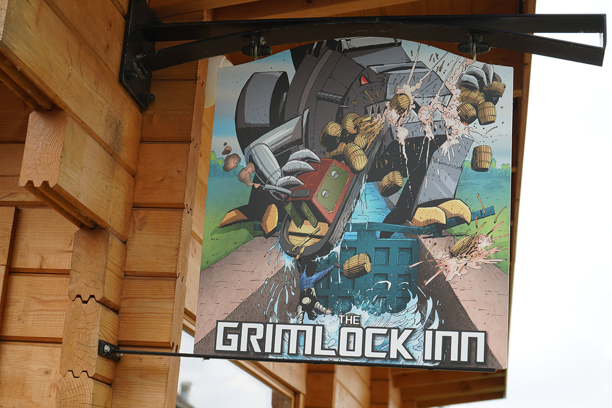 Transformers-themed pub could be Britain's Best Home Bar